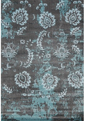 Distressed Design Rug