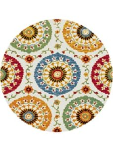 Colorful Round Rug