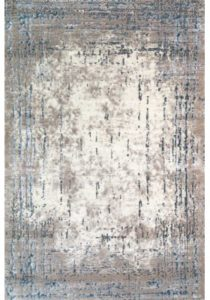 New Worn out look art silk rug