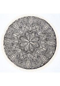 Contemporary Round Rug