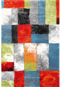 Multi color rug available in extra large sizes