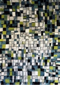 Abstract contemporary rug
