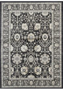Classic navy rug
