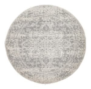 Distressed Round Rug