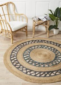 Atrium Round Flat weave